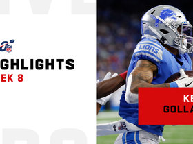 Every catch from Kenny Golladay's 123-yard, two-TD day | Week 8