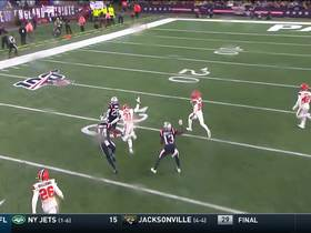 James White turns screen into WILD 59-YARD field-reversing catch and run
