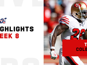 Tevin Coleman's best plays from 4-TD game | Week 8