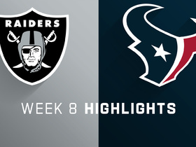 Raiders vs. Texans highlights | Week 8