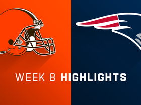 Browns vs. Patriots highlights | Week 8