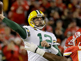 Can't-Miss Play: Rodgers unleashes 34-yard cross-body dime to diving WR