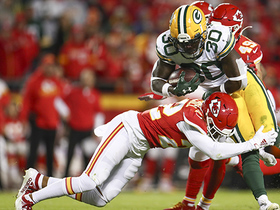 Jamaal Williams explodes through middle of Chiefs D
