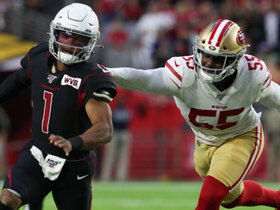 Dee Ford leads slew of 49ers in sack on Kyler Murray