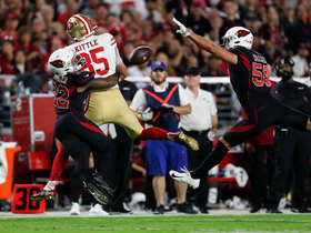 Budda Baker makes eye-popping pass breakup vs. Kittle