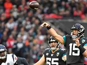 Texans grab second INT off Minshew in back-to-back drives