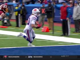 Beasley turns DB around on whip route to cap Bills' opening drive with TD
