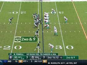 Darnold hits Anderson with sideline dime for sharp 22-yard pickup