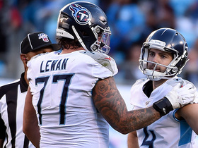 Titans end half scoreless as 56-yard FG comes up short