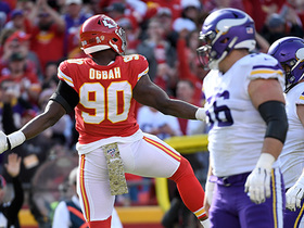 Chiefs show pressure on third-and-long for HUGE sack