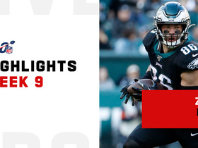 Every Zach Ertz catch from 103-yard game | Week 9