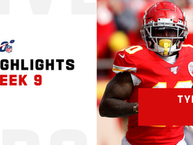 Every catch from Tyreek Hill's 140-yard game | Week 9