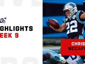 Christian McCaffrey's best plays vs. the Titans | Week 9