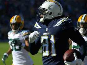 Philip Rivers hits Mike Williams PERFECTLY in stride for 57-yard catch and run