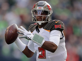 Jameis Winston extends the play to fire TD to Mike Evans