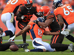 Browns' D force fumble for big-time turnover