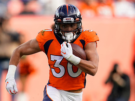 Phillip Lindsay sprints for blazing-fast 40-yard dash