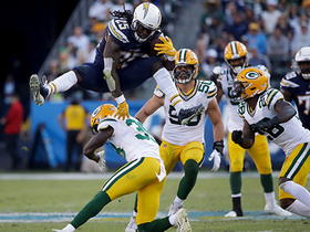 Can't-Miss Play: Melvin Gordon HURDLES in style over Packers defender