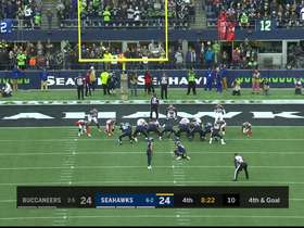 'Hawks take lead on Jason Myers chip shot FG