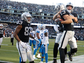 Hunter Renfrow hauls in CLUTCH toe-tapping TD to give Raiders late lead