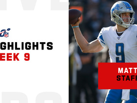 Matthew Stafford's best throws vs. the Raiders | Week 9