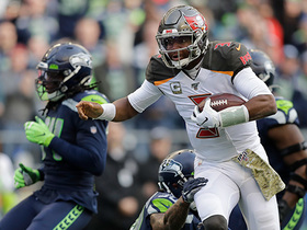 Jameis Winston scrambles to keep drive alive on fourth-and-5