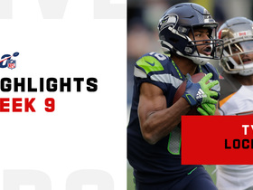 Every Tyler Lockett catch from 2-TD game | Week 9