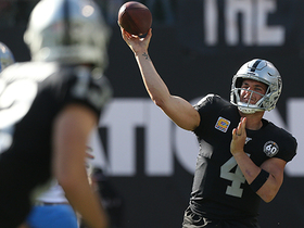 Derek Carr's best pass of 2019? QB may have it on 31-yard strike to Jalen Richard