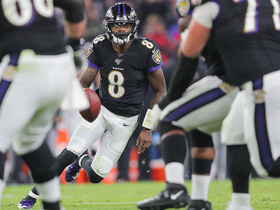 Lamar Jackson rolls right to deliver fourth-down strike to Willie Snead