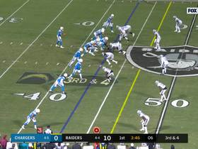Pocket collapses around Rivers for huge Raiders sack