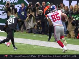 Ellison turns Jones' short throw into 31-yard sideline sprint