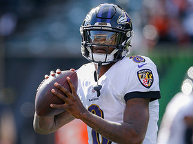 Lamar Jackson pitches to RGIII on WILD two-QB option play