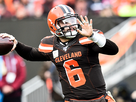 Baker Mayfield connects with OBJ for 16-yard pickup on third down