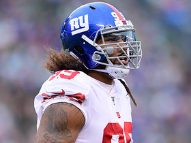 Leonard Williams wraps up his former teammate Le'Veon Bell