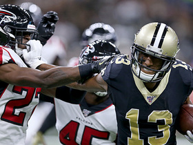 Michael Thomas becomes fastest player to 400 catches in NFL history