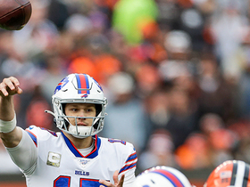 Josh Allen's SURGICAL 26-yard frozen rope to Cole Beasley puts Bills in red zone