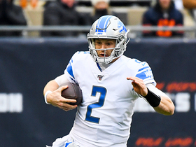 Driskel to Driskel! Lions QB turns his own tipped pass into positive yards