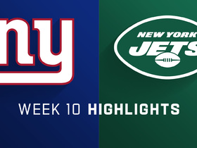Giants vs. Jets highlights | Week 10