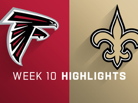Falcons vs. Saints highlights | Week 10