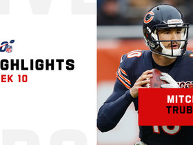 Mitchell Trubisky's best throws from 3-TD day | Week 10