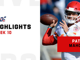 Patrick Mahomes' best passes from 446-yard return | Week 10