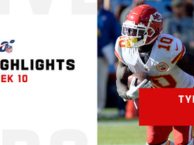 Every catch from Tyreek Hill's 157-yard game | Week 10