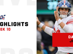 Daniel Jones' best throws from 308-yard, four-TD game | Week 10