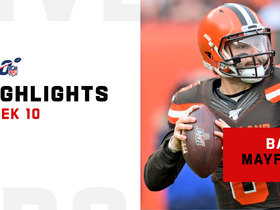 Baker Mayfield's best plays from key win over Bills | Week 10