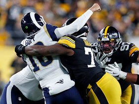Steelers collapse the pocket on Jared Goff for huge third-down sack