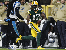Davante Adams' wicked route turns CB completely around for 38-yard grab