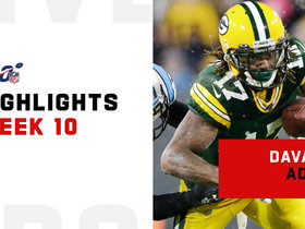 Davante Adams' best catches vs. Panthers | Week 10