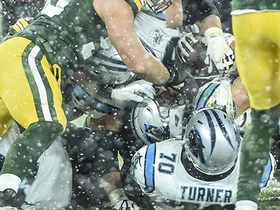 Packers stonewall Christian McCaffrey on final play to ICE game