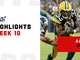 Aaron Jones' best plays from 3-TD game | Week 10