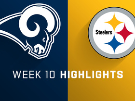 Rams vs. Steelers highlights | Week 10